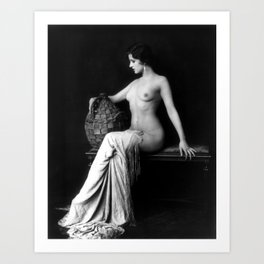 Ziegfeld Follies Girl Art Print