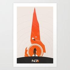Mass Effect (v. 2) Art Print