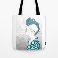punk Tote Bags featuring Punk by katiwo
