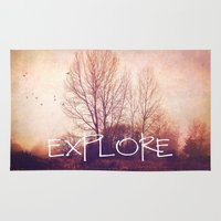 explore Area & Throw Rugs featuring explore by Sylvia Cook Photography