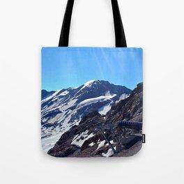 glacier end 3 kaunertal alps tyrol austria europe Tote Bag
