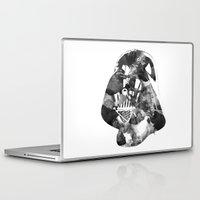 vader Laptop & iPad Skins featuring Vader by DanielBergerDesign