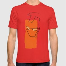 Oneline Ironman Red MEDIUM Mens Fitted Tee