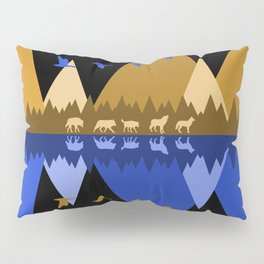 Wolfpack Passage #7 Pillow Sham