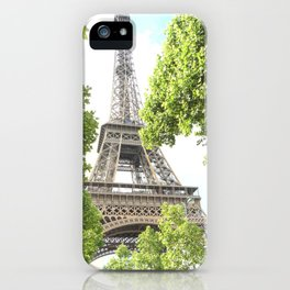 Eiffel for You Again and Again iPhone Case