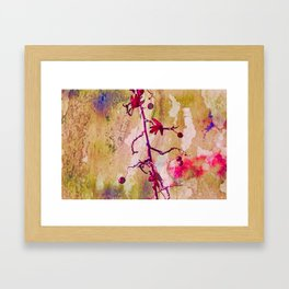 Abstract Nature Berry Art Framed Art Print