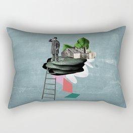 Surreal Collage Rectangular Pillow