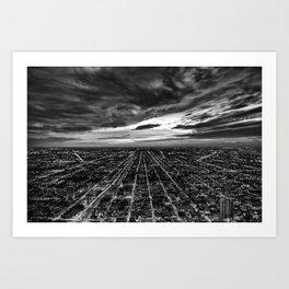 rapture, meet urbania Art Print