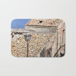 "Old Abandoned Farmhouse - Sicily - ""Vacancy"" zine  Bath Mat"