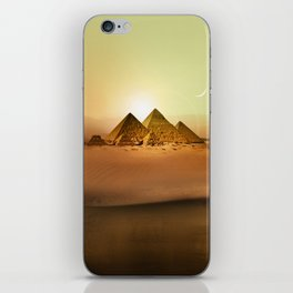 Station Pyramid Day iPhone Skin