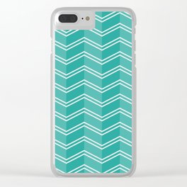 Tosca Zigzag Clear iPhone Case