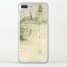 Map of Louisiana and Florida Gulf Coast (1778) Clear iPhone Case