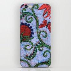 Floral Batik iPhone & iPod Skin