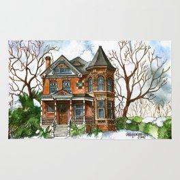 Victorian Winter Rug