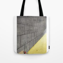 Dream induced by enforced repetition. Tote Bag