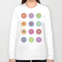 deadmau5 Long Sleeve T-shirts featuring Vinyl Pop Art by Sitchko Igor