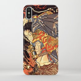 Fight With Tengu iPhone Case