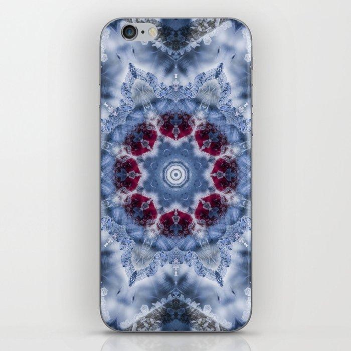 Ice Fractal iPhone Skin