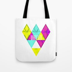 Paper Triangles ▵WHATEVER▵ Tote Bag