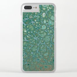 Forest Ground Clear iPhone Case