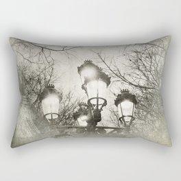 Vintage Lantern Rectangular Pillow