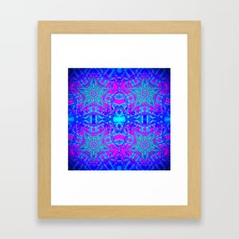 Bright Cool Stars Framed Art Print