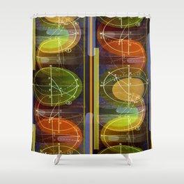 Cascadence 2 Shower Curtain