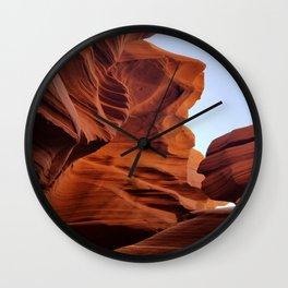 Antelope Canyon  #8 Wall Clock