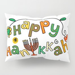 Happy Hanukkah Pillow Sham