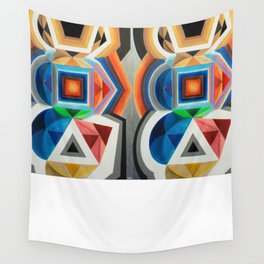 Primary Totem Wall Tapestry