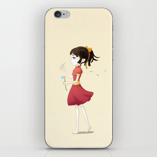 Loves me not iPhone & iPod Skin