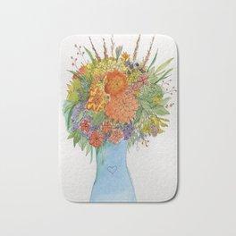 Flowers for Diane Bath Mat