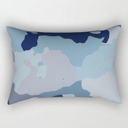 Indigo Blues Rectangular Pillow