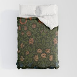 Violet and Columbine by William Morris (1834-1896) Comforters