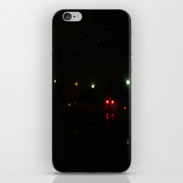 Night Lights iPhone Skin
