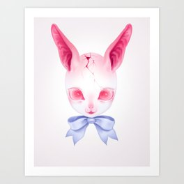 Easter Bunnie Art Print