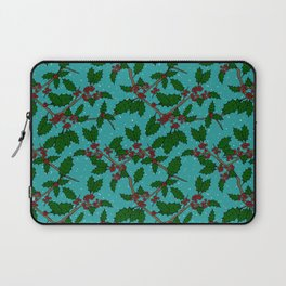 Holly Branches Laptop Sleeve
