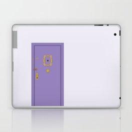 Purple Door - Friends Apartment Laptop & iPad Skin