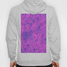Textured Pink And Blue Hoody