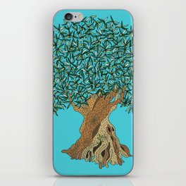 Very Old Olive Tree iPhone Skin
