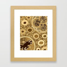 The Bogon Moths of the past, the present and the future Framed Art Print