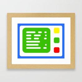 Beta One Command Base Framed Art Print
