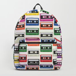 Cassettes In a Row Backpack