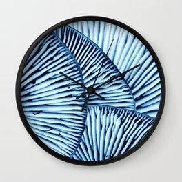 Enoki in Blue Wall Clock