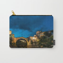 Mostar at night Carry-All Pouch