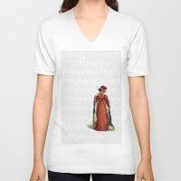 pride and prejudice V-neck T-shirts featuring Pride & Prejudice by Studio Fibonacci