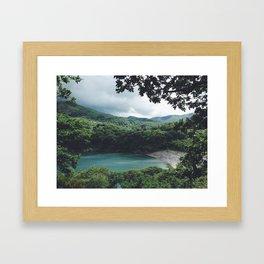 Paradise. Framed Art Print