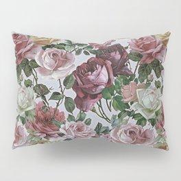 Vintage & Shabby chic - retro floral roses pattern Pillow Sham