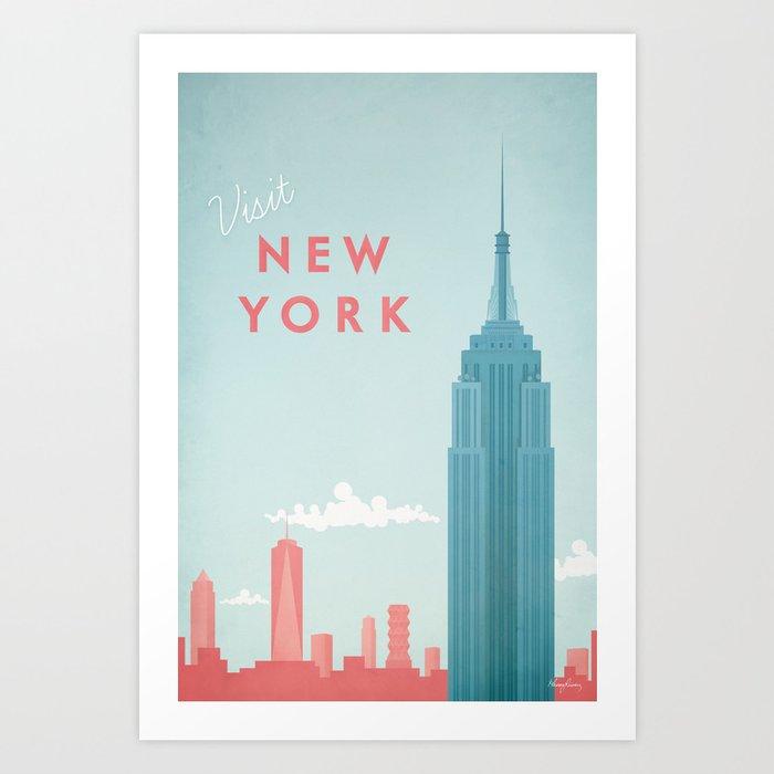 New York New York Kunstdrucke