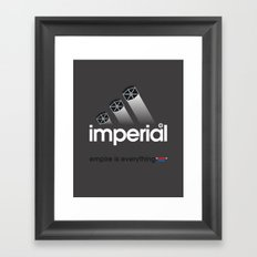 Brand Wars: Imperial Framed Art Print